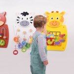 Activity Wall Set Community Areas Size Size of each panel: 36 x 55 x 3.5cm