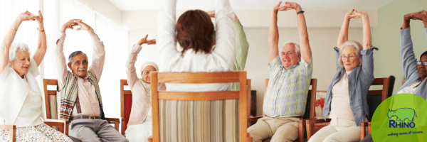 Chair Yoga in Care Homes