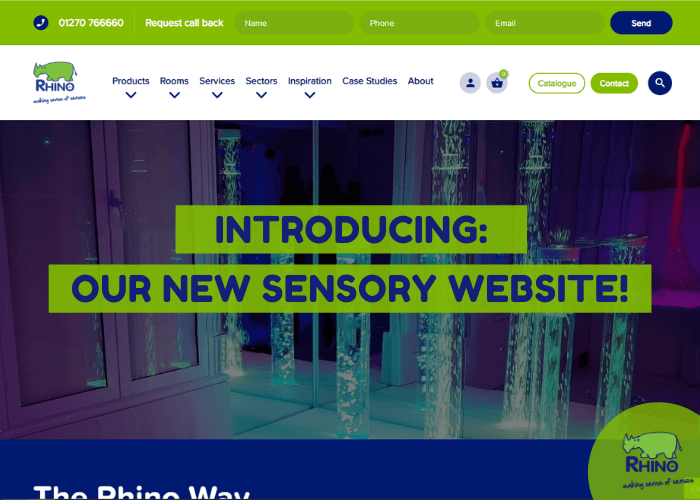 Introducing: Our New Sensory Website!