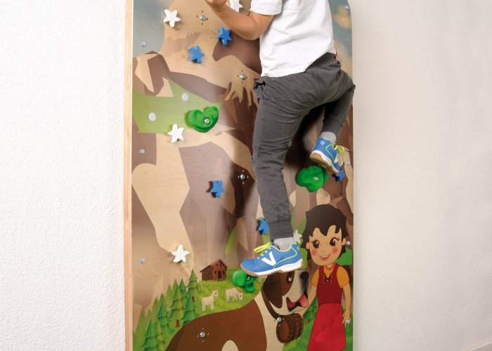 Climbing Wall Mountain Landscape