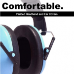 Ear Defenders Autism Resources Size H10 x W12cm (folded); H17 x W13cm (opened)