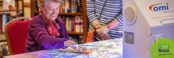 Interactive Projectors in Care Homes
