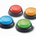 Lights & Sounds Buzzers Developmental Size 9cm