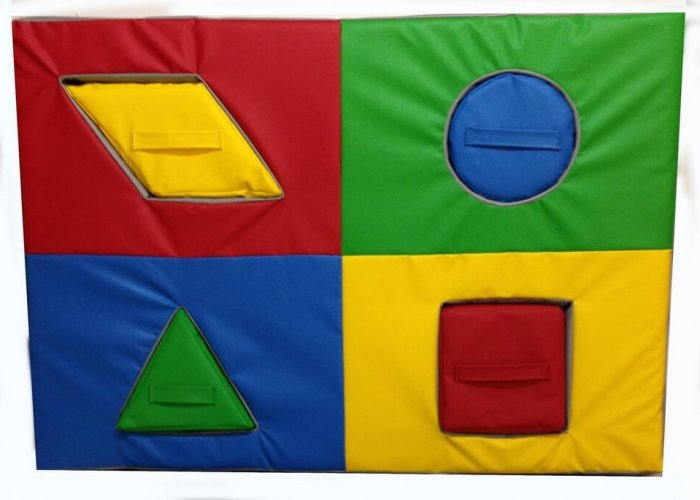 Softplay Shape Matching Mat
