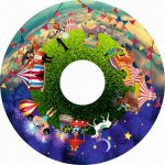 Magnetic Effect Wheels 6″ At the Circus Multi-Sensory Equipment Size 6