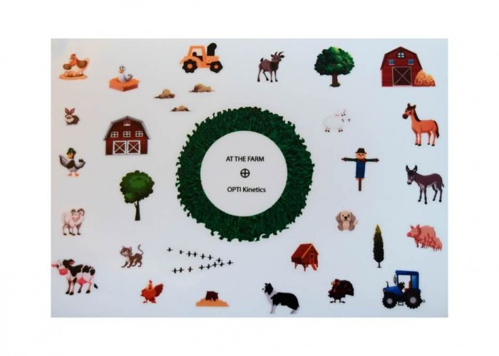 At the Farm Sticker Set