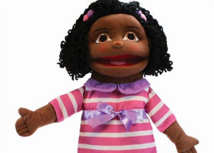 Puppet Buddy - Dark Skin Girl