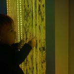 Interactive Bubble Wall Multi-Sensory Equipment Size H120 x W60 x D8cm