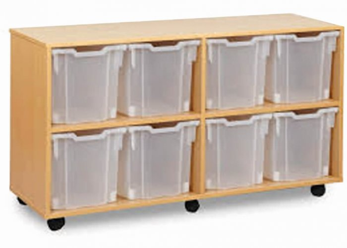Mobile 8 Jumbo Tray Unit