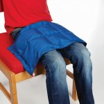Weighted Lap Pad – Small Massage & Vibration Size L60 x W30cm   1kg