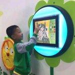Bubble Playtouch LED Community Areas Size D60cm x Screen Dia 14cm