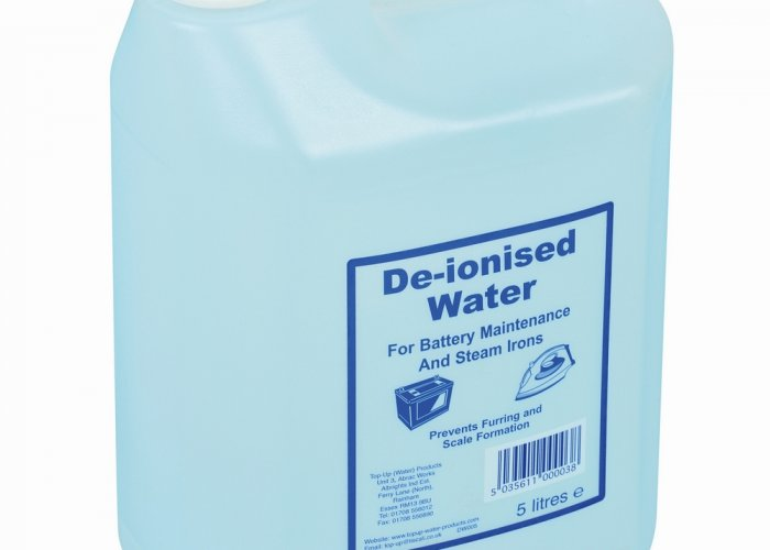 De-ionised Water 25lt