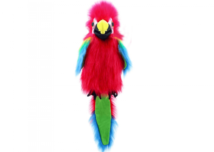 Amazon Macaw Autism Resources Size H40cm excluding the tail.