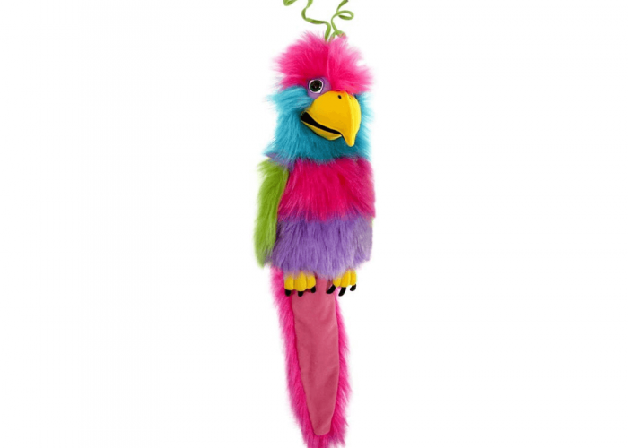 Bird Of Paradise Autism Resources Size H40cm excluding the tail.
