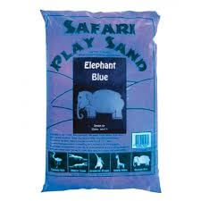 Blue Play Sand Community Areas Size 15kg