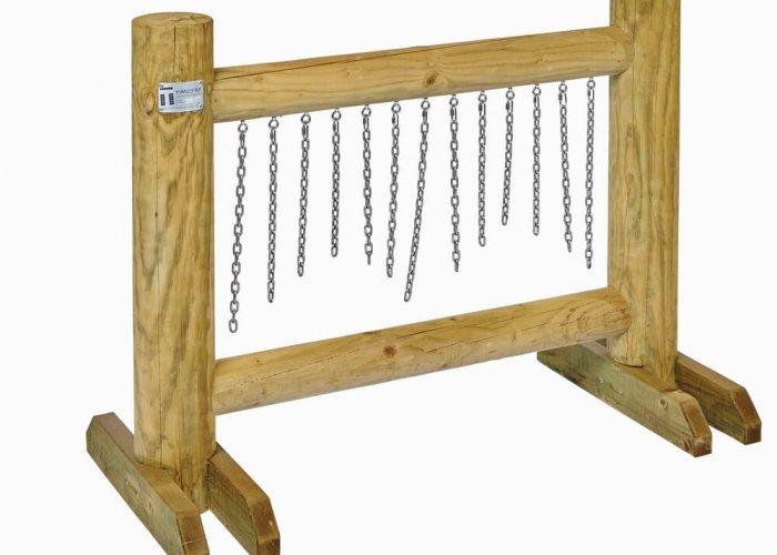 Chain Rattle (Freestanding) Community Areas Size H150 x L120 x D15cm