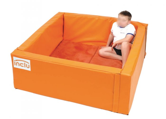 Chill Out Den Seating & Positioning Size Size: 130 x 130cm. Storage size: 120 x 50 x 50cm