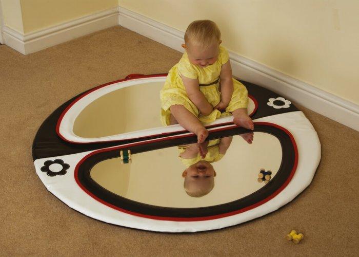 Double Mirror mat Developmental Size Dia 120cm