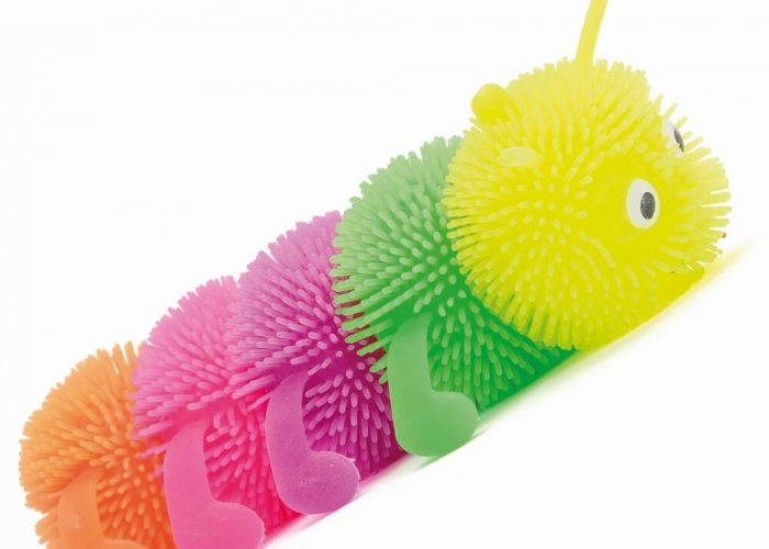 Flashing Caterpillars – Pack of 2 Autism Resources Size 17cm