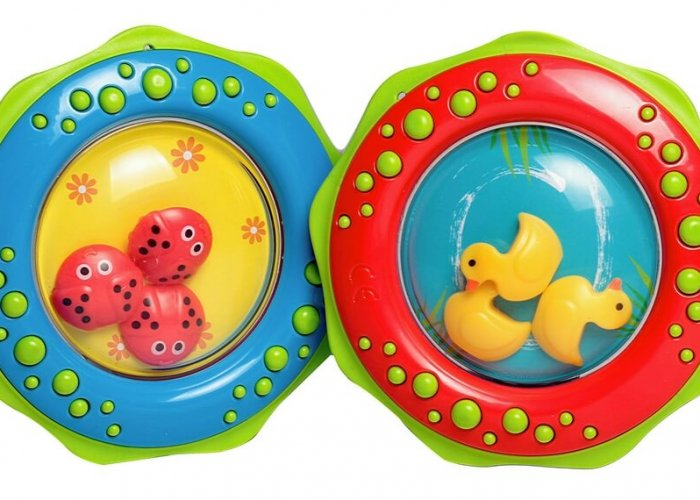 Fun Rattles Set Sensory Toys Size 10cm