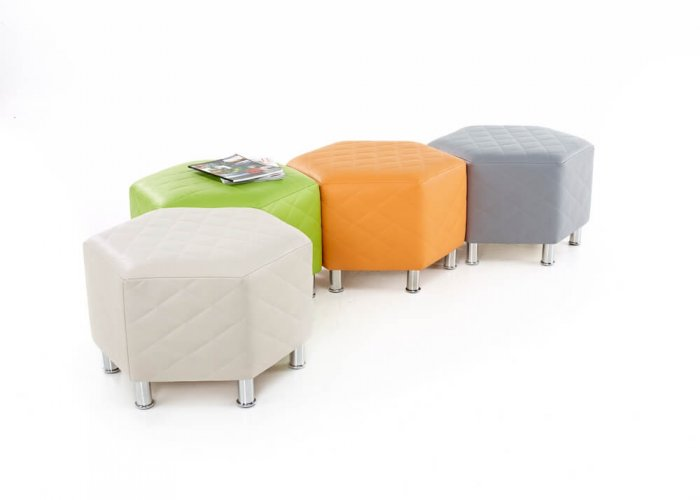 Hexagonal Breakout Seat Seating & Positioning Size 45 x 72 x 62cm