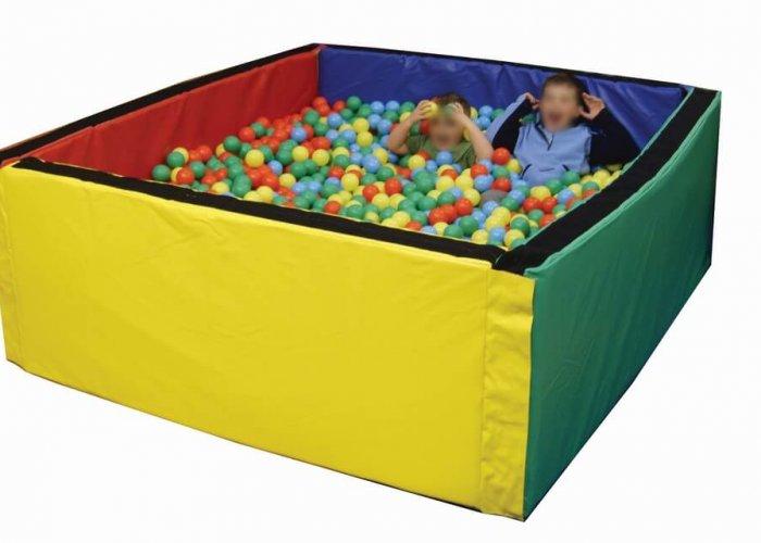 Large Square Ball Pool Ball Pools Size 200 x 200 x 76cm