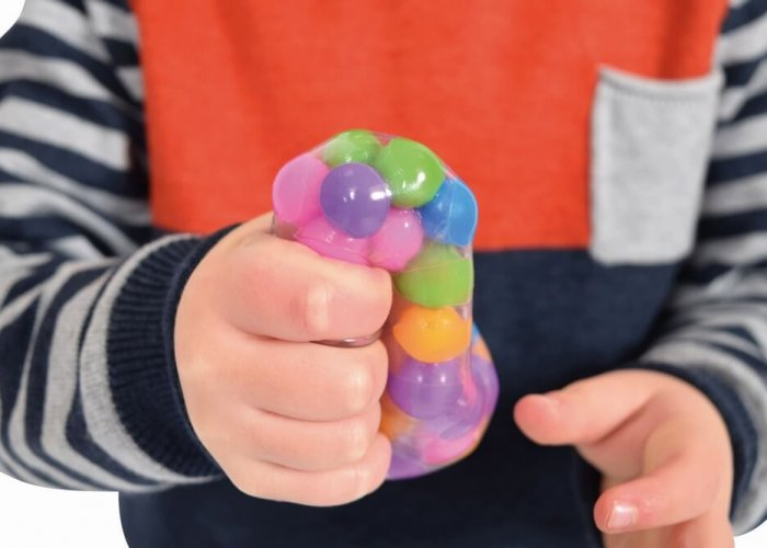 Molecule Stress Ball – Pack of 3 Autism Resources Size 6cm