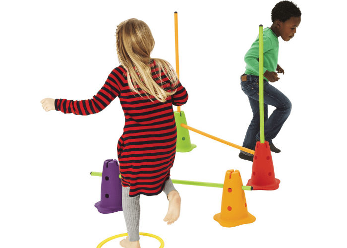 Obstacle Course Sticks Gross Motor & Balance Size L1000 x Dia 25mm