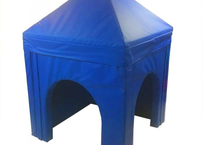 Pitched Roof Soft Play Den Soft Play Size 120 x 120 x 180cm