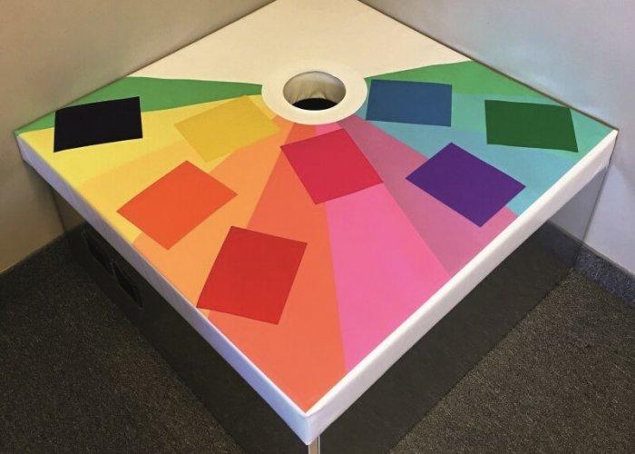 Podium Colour Controller Pad Multi-Sensory Equipment Size 90 x 90cm