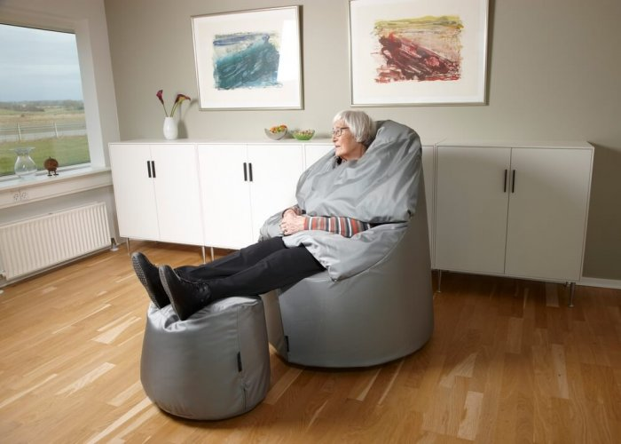 Protac Sensit Straight Chair Massage & Vibration Size Over 180cm, Seat Height 17