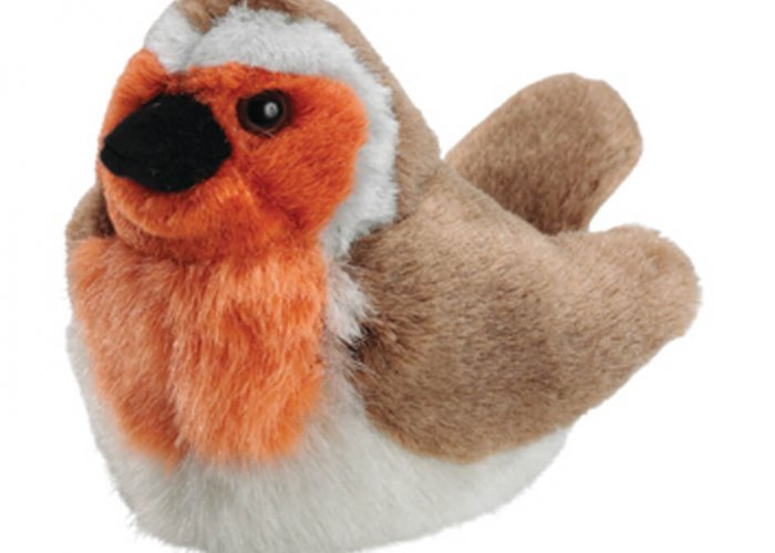 Robin Singing Bird Sensory Resources for Dementia & Reminiscence Size 20cm