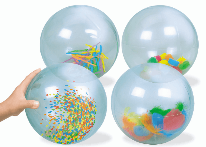See Inside Activity Balls Clearance Size 21cm