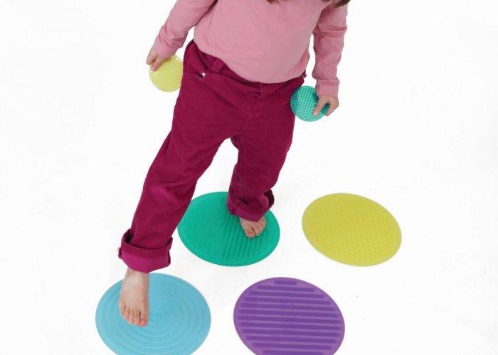 Silishapes Sensory Circle Set Gross Motor & Balance Size Dia 35 and 8cm