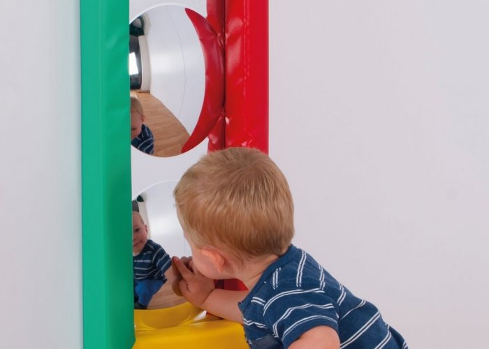 Soft Frame 3 Bubble Mirror Sensory Toys Size 84 x 30cm