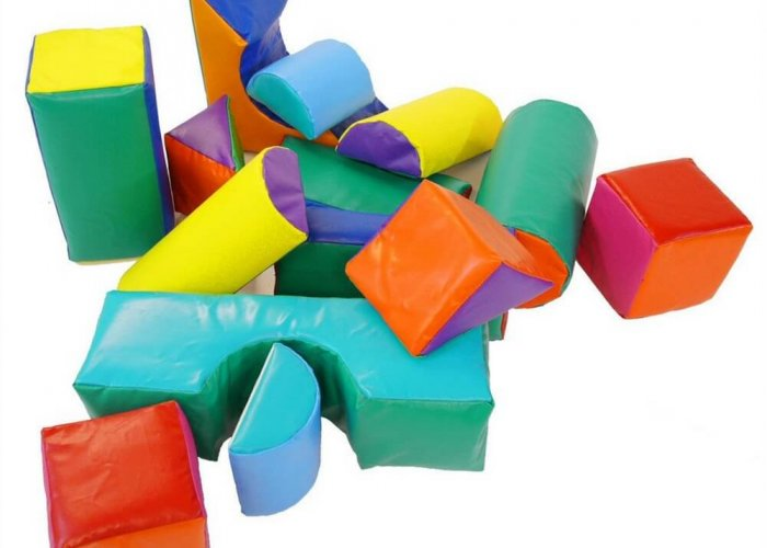 Soft Play Shape Kit – 14 Piece Set Construction