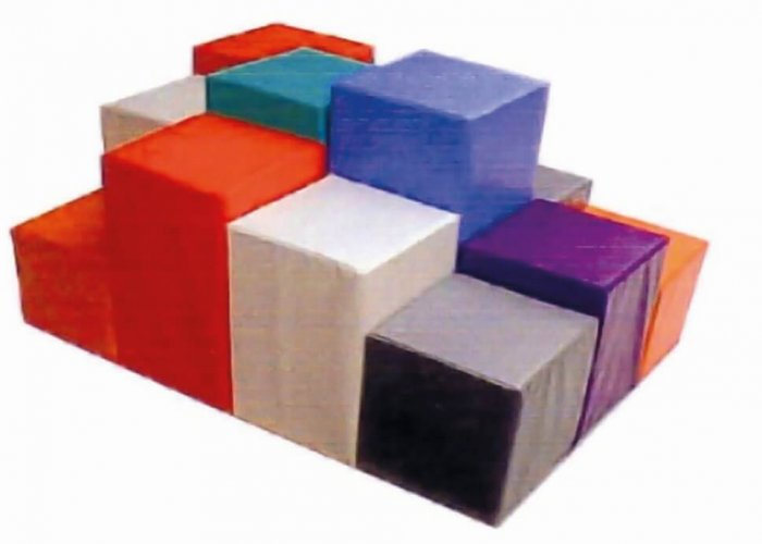 Soft Play Stepping Stones Activity Trails Size 120 x 90cm