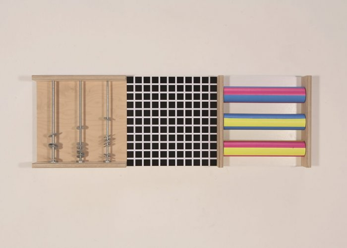 Visual Perception Tactile Wall Set B Multi-Sensory Equipment Size 90 x 30cm