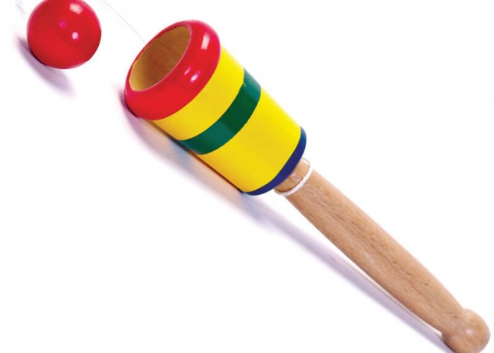 Wooden Cup and Ball Developmental Size 21cm